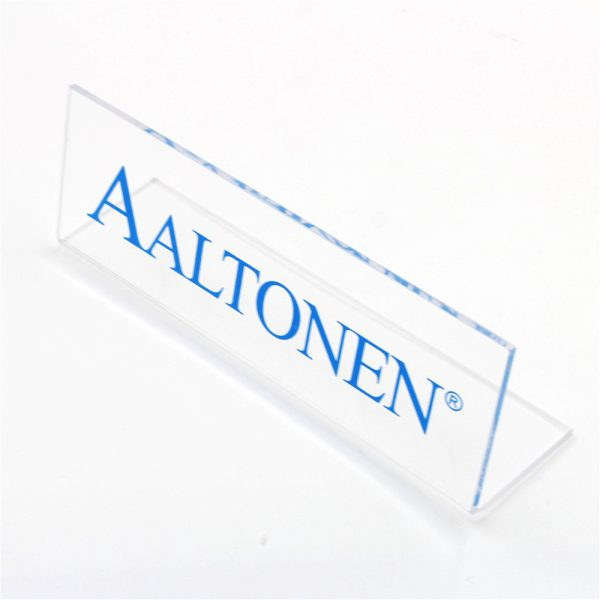 Bent Acrylic Sign (1)