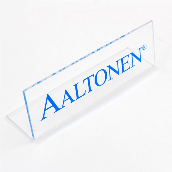 Bent Acrylic Sign (2)