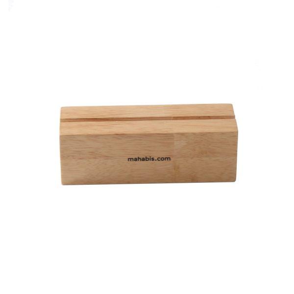 Wood Base Acrylic Sign Holder