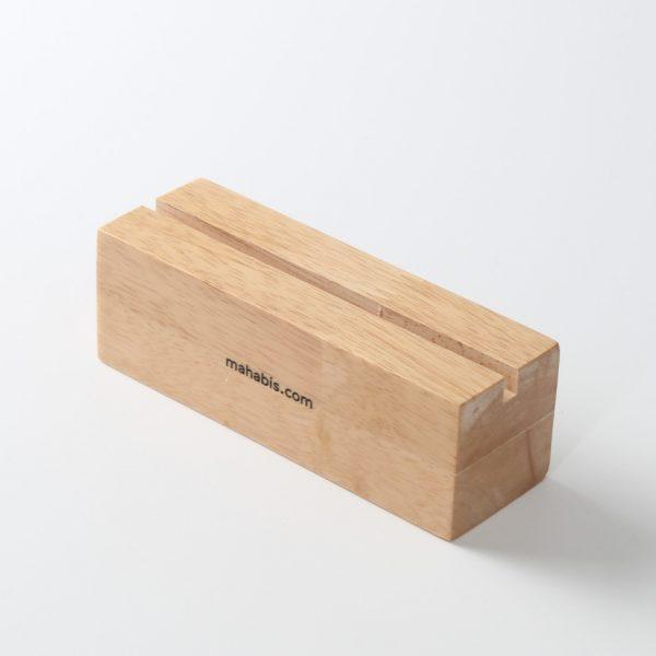 wood sign holder
